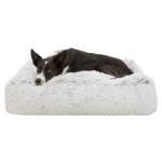 Trixie hondenkussen harvey wit / zwart (80X60X18 CM)