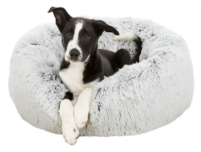 Trixie hondenmand harvey wit / zwart (60X60 CM)