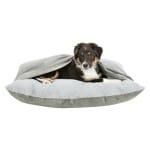Trixie hondenkussen melle met deken grijs (80X60X16 CM)