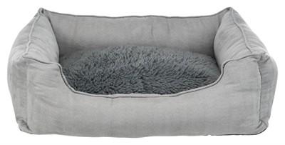 Trixie hondenmand warmte reflecterende vulling grijs (100X70 CM)