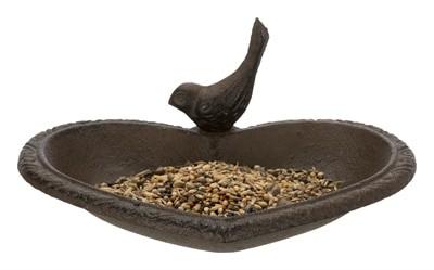 Trixie vogelbad hart gietijzer bruin (16X15 CM)