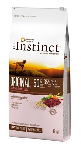 True instinct original medium adult lamb