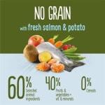 True instinct no grain medium adult salmon (12 KG)