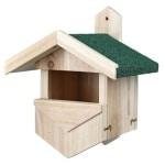 Trixie nestkast voor halfholenbroeders (25X21X31 CM)