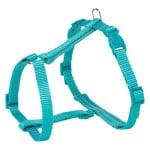 Trixie kattentuig premium met riem turquoise (25-45X1 CM)