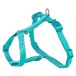 Trixie kattentuig premium met riem turquoise (33-57X1,3 CM)