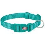 Trixie premium halsband hond oceaan blauw (22-35X1 CM)