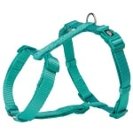 Trixie hondentuig premium h-tuig oceaan blauw (52-75X2 CM)