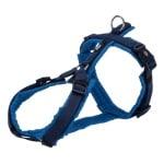 Trixie hondentuig premium trekking indigo / royal blauw (36-44X1,5 CM)