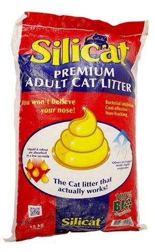 Silicat adult litter