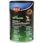 Trixie vitaminen mineralenpoeder d3 met calcium voor carnivoor (50 GR)