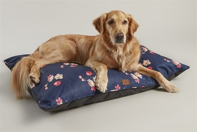 Joules hondenmand matras floral