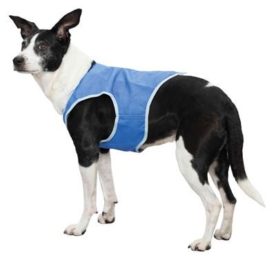 Trixie cooling vest pva blauw (30 CM)