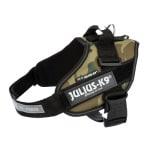 Julius k9 idc harnas / tuig camouflage (MINI/49-67CM)