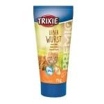 Trixie premio leverworstpasta kat (75 GR)