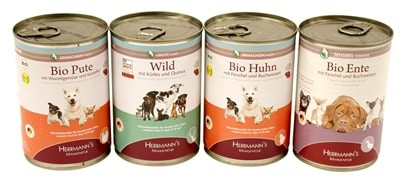 Herrmanns selection dog multipack blik (12X400 GR)