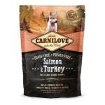 Carnilove salmon / turkey puppies large breed (12 KG)