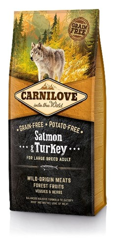 Carnilove salmon / turkey adult large breed