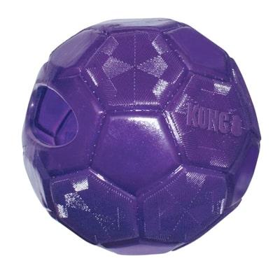 Kong flexball paars (15,5X15,5X15,5 CM)