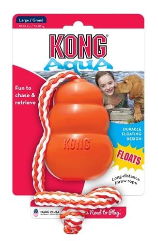Kong aqua oranje (7X7X10 CM)