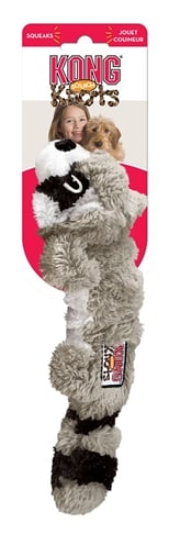 Kong scrunch knots raccoon (8,5X5X23 CM)