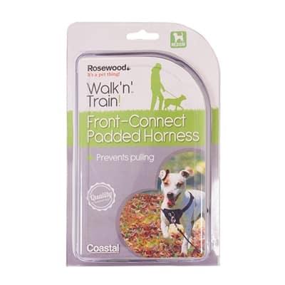 Rosewood walk 'n' train hondentuig aanlijning voorzijde (MEDIUM)