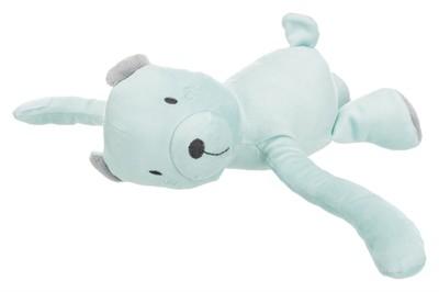Trixie junior speelset deken en beer grijs / mintgroen