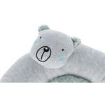 Trixie junior ligmat beer lichtgrijs / mintgroen (40X40 CM)
