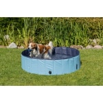 Trixie hondenzwembad lichtblauw / blauw (70X70X12 CM)