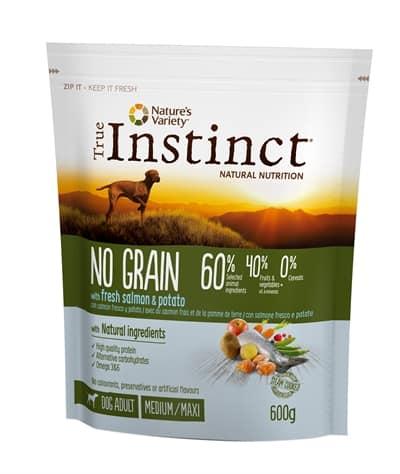 True instinct grain free adult medium salmon