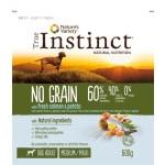 True instinct grain free adult medium salmon (600 GR)