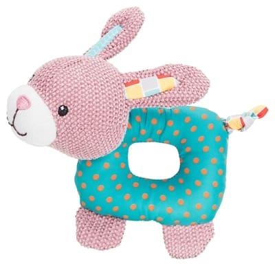Trixie junior konijn stof met geluid (16 CM)