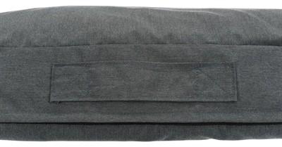 Trixie hondenkussen pulito vitaal ovaal grijs (120X85 CM)