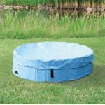 Trixie afdekhoes voor hondenzwembad lichtblauw (80 CM)