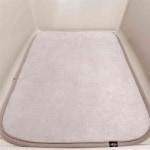 Trixie ligmat hond voor vervoersbox skudo grijs (1 39X24 CM)