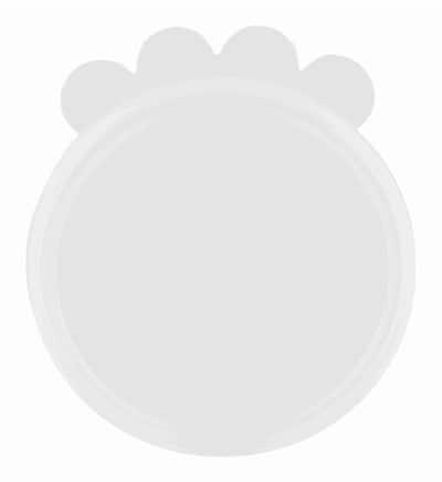Trixie deksel voor blik silicone transparant (10,6 CM)