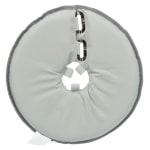 Trixie beschermkraag schuimrubber grijs (30-34X19,5 CM)