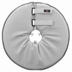 Trixie beschermkraag schuimrubber grijs (38-42X21,5 CM)