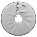 Trixie beschermkraag schuimrubber grijs (46-49X24 CM)
