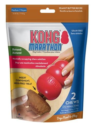 Kong marathon peanut butter (6,5X6,5X5,5 CM 2 ST)
