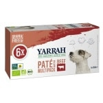 Yarrah dog alu pate multipack beef / chicken (6X150 GR)