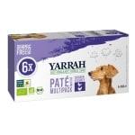 Yarrah dog alu pate multipack chicken / turkey (6X150 GR)