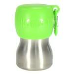 Kong h2o drinkfles rvs groen (280 ML)