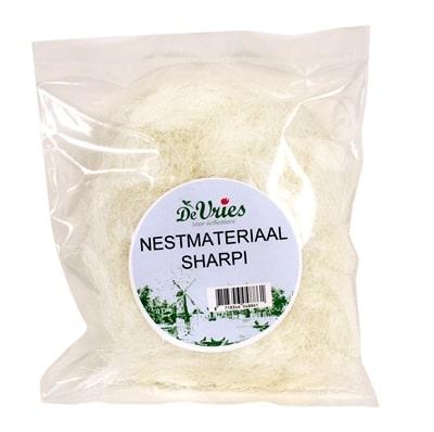 De vries nestmateriaal sharpi (100 GR)