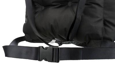Trixie autostoel zwart / grijs (50X50X40 CM)