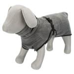 Trixie badjas hond badstof grijs (60 CM)