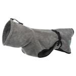 Trixie badjas hond badstof grijs (70 CM)