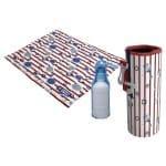 Croci koel kit met mat / drinkfles / koelhouder fles