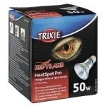 Trixie reptiland heatspot pro warmtelamp halogeen (50 WATT 6,5X6,5X8,8 CM)