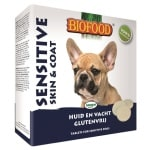 Biofood hondensnoepje sensitive hypoallergeen skin en coat (55 ST)